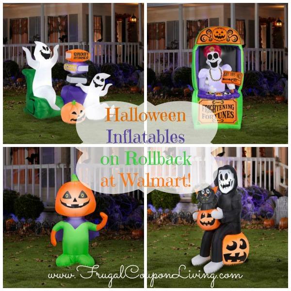 halloween inflatables on rollback at walmart - Halloween Walmart