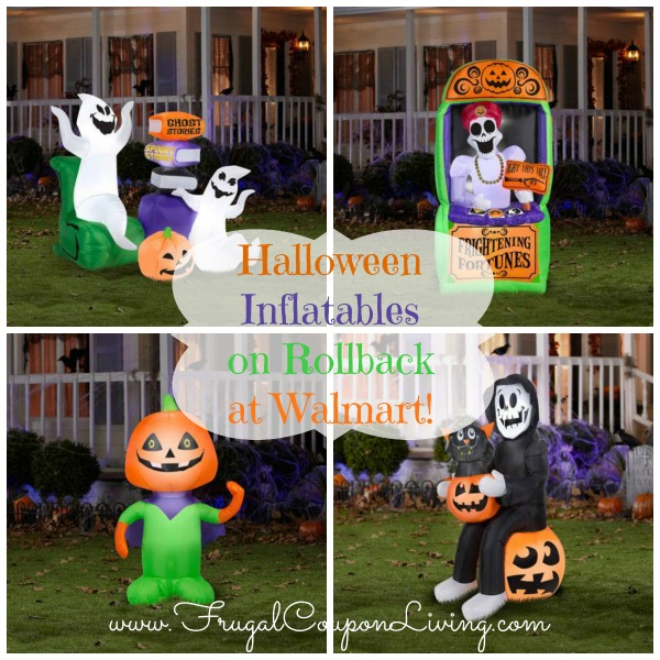 Halloween Inflatables on Rollback at Walmart!