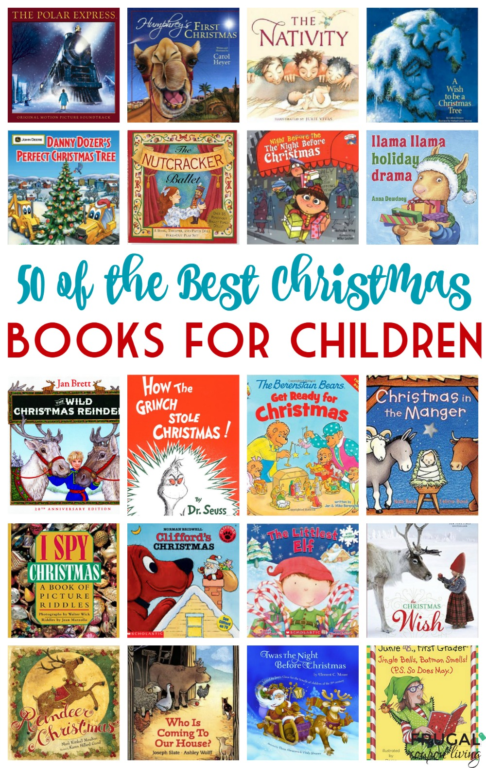 50 of the Best Christmas Books for Children