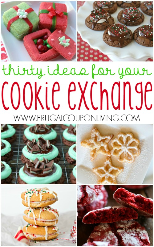 Recipe ideas for cookie exchange
