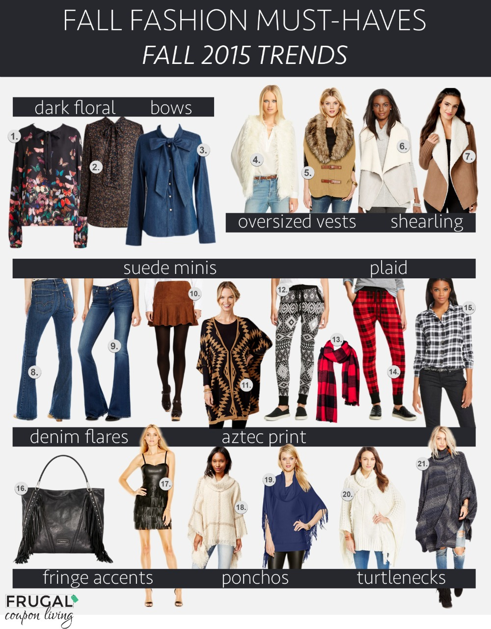 Fall Fashion Must-Haves Fall 2015 Trends Frugal Coupon Living