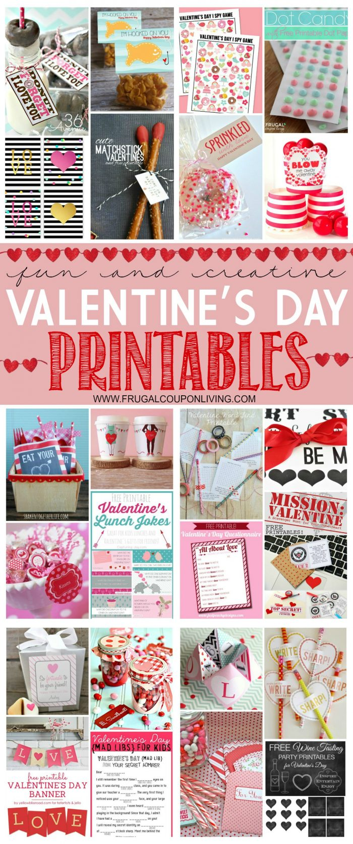 Free Printables For Valentine S Day