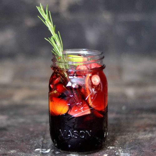 Winter Sangria square