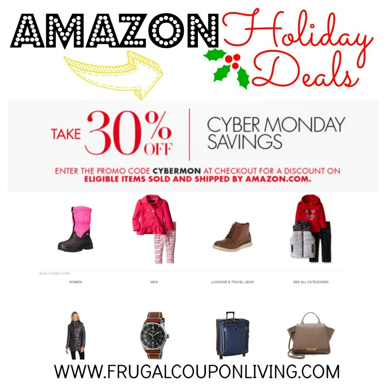 Amazon coupon code cyber monday