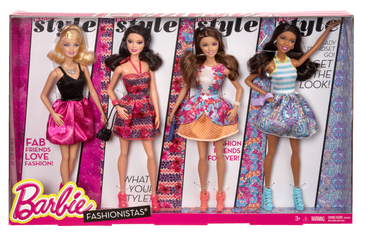 Black Friday Barbie Fashionistas