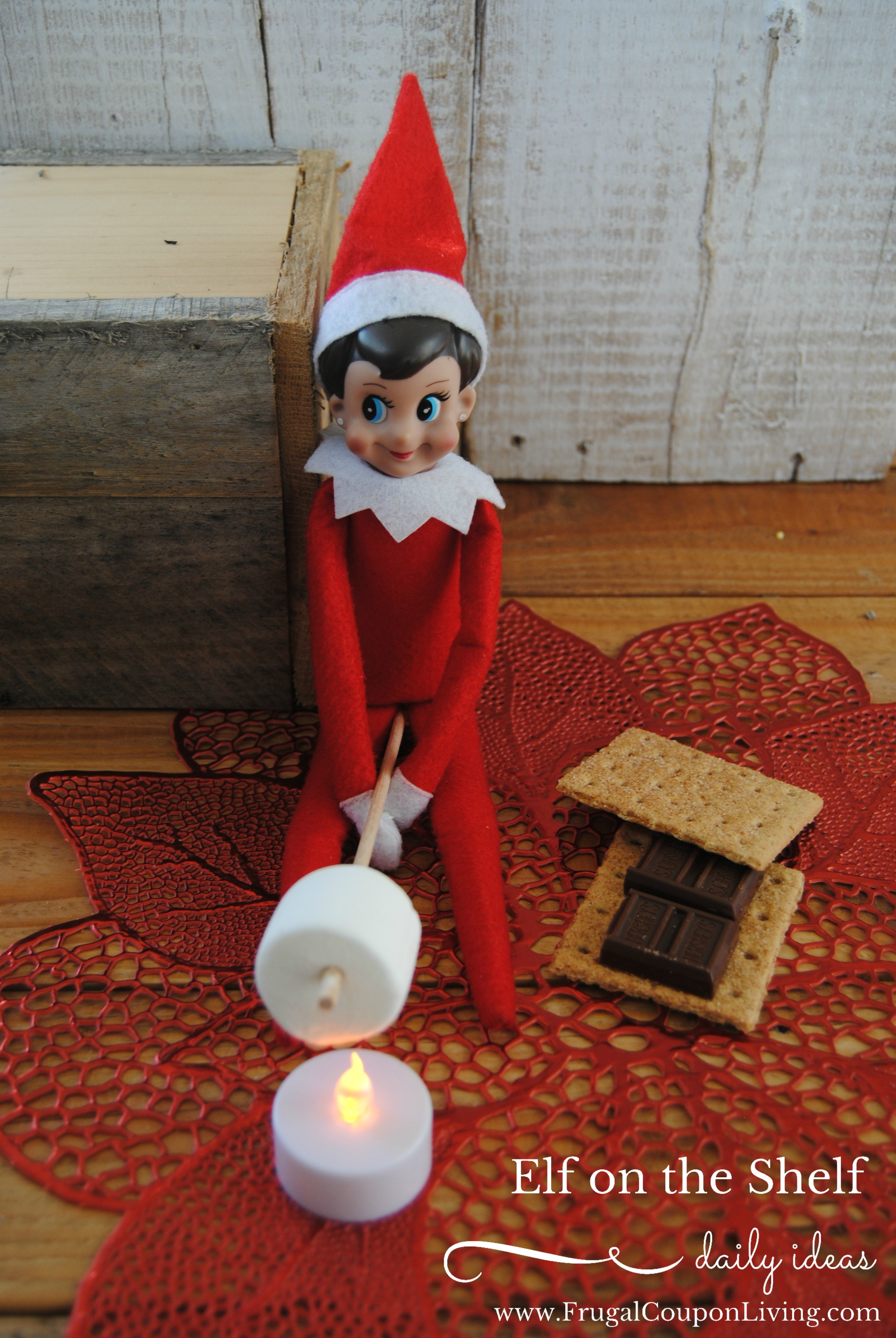 25 Fun Elf on the Shelf Ideas for Each Day Leading Up to Christmas. No more 3 a.m. panics because you forgot to move him.