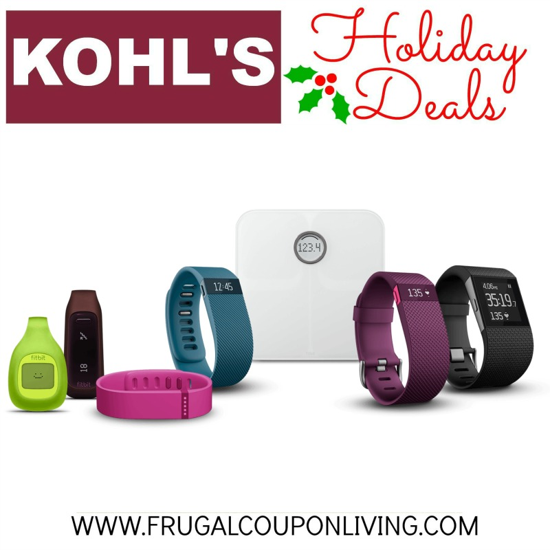 Kohl 39 S Black Friday Fitbit Deals From