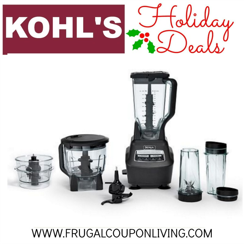 Kohl S Black Friday Ninja Blender 88 From 250
