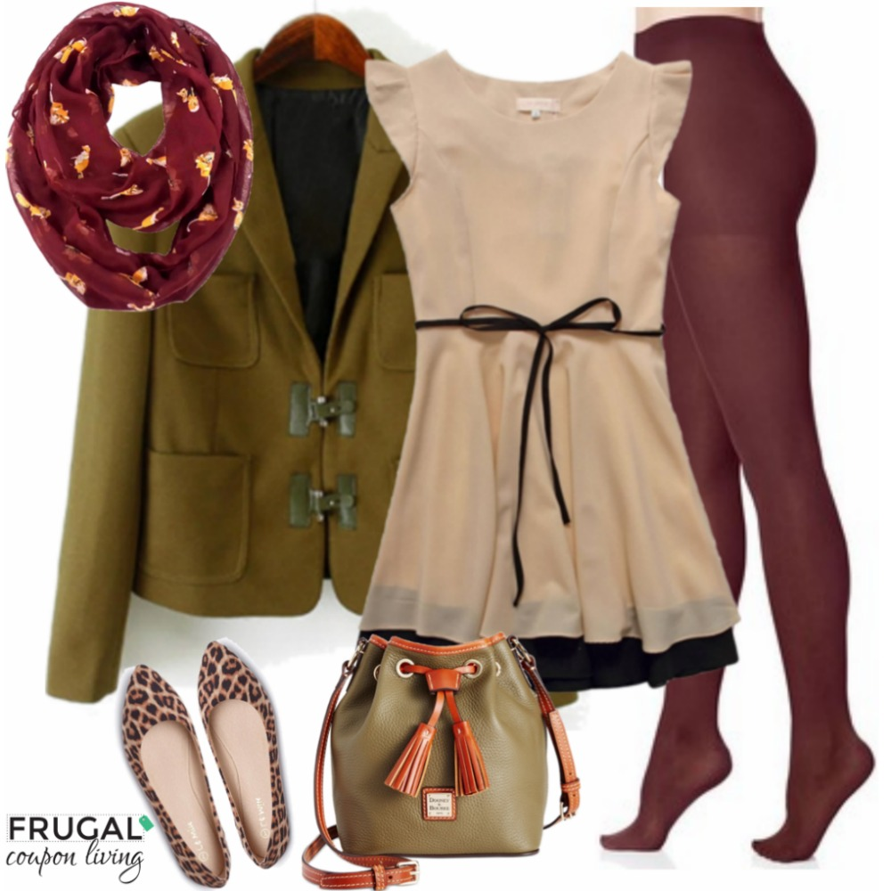 olive-cranberry-holiday-party-outfit-frugal-coupon-living-frugal-fashion-friday