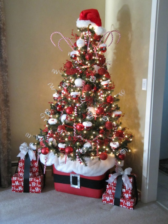 Lovely Santa Christmas Tree Smaller Photo Gallery