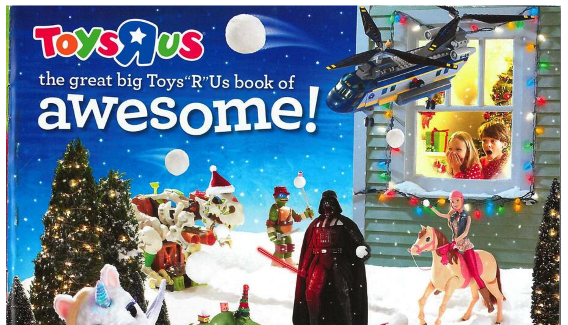 2015 Toys R Us Toy Book Of Awesome