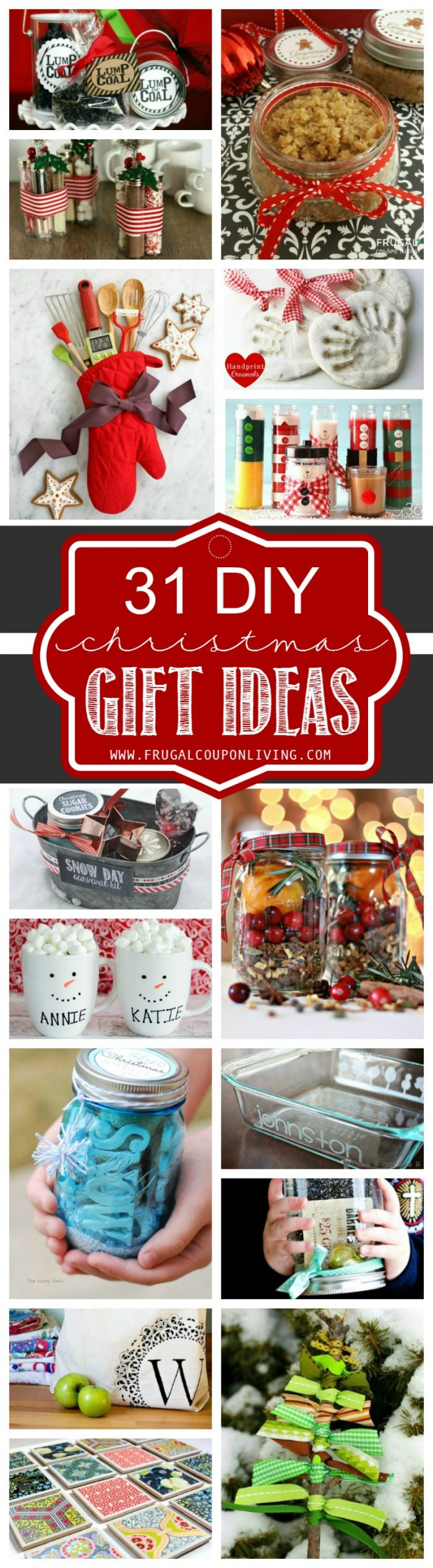 31 diy christmas gift ideas Homemade christmas gifts