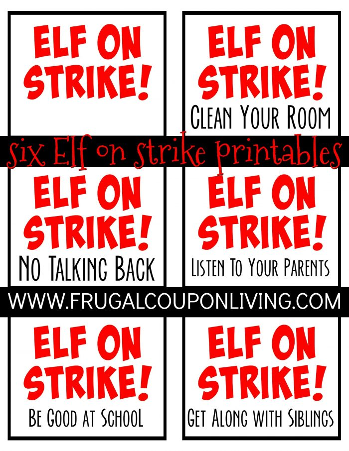 Elf on the Shelf on Strike