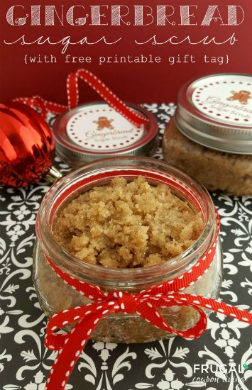 Gingerbread-Sugar-Scrub-with-FREE-gift-tag-on-Frugal-Coupon-Living-small