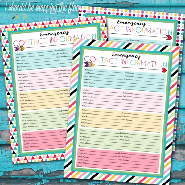 20 must have home printables for the new year