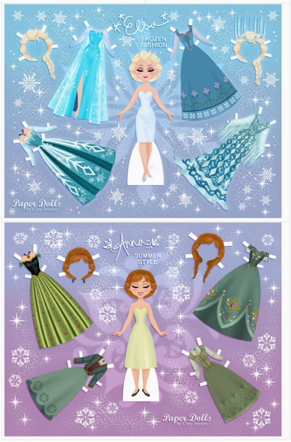 20 FREE Disney Printables Crafts