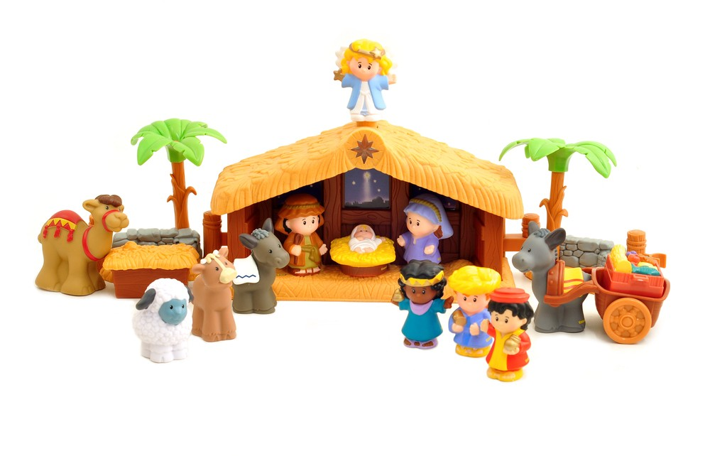 Little People Nativity Set 20 From 45