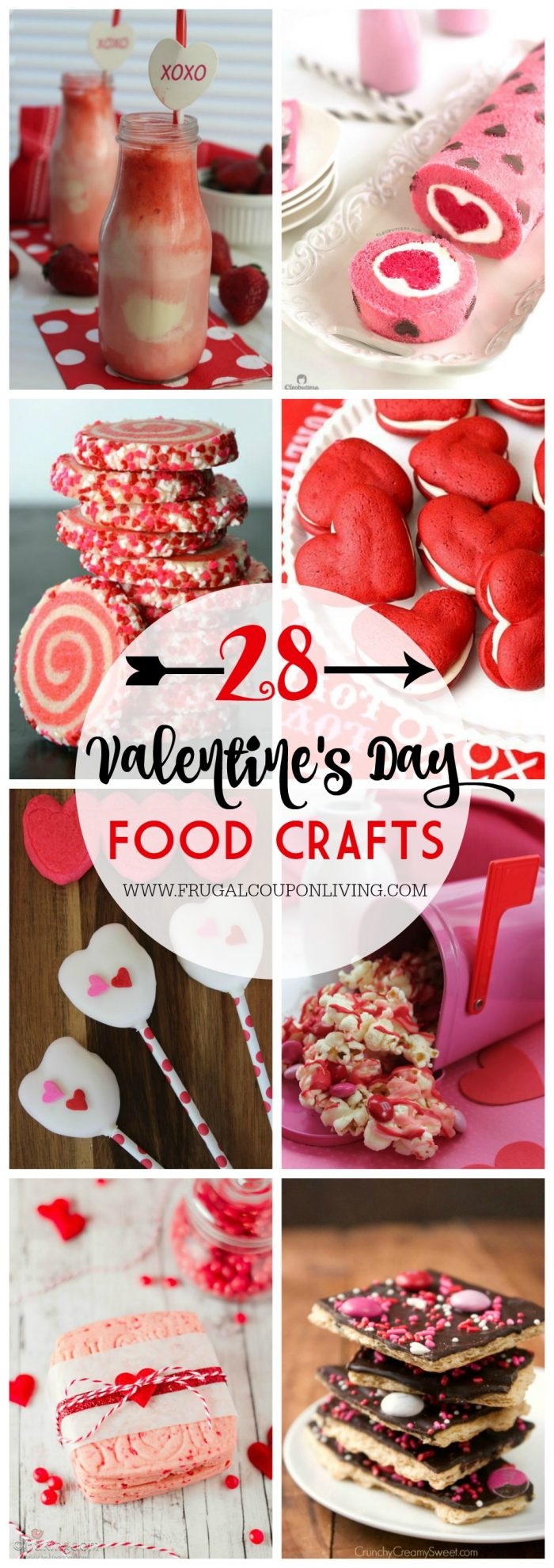 28 Days Of Kid S Valentine S Day Food Crafts