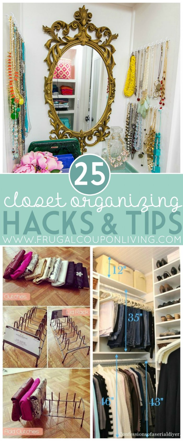 Closet Organizing Hacks Amp Tips