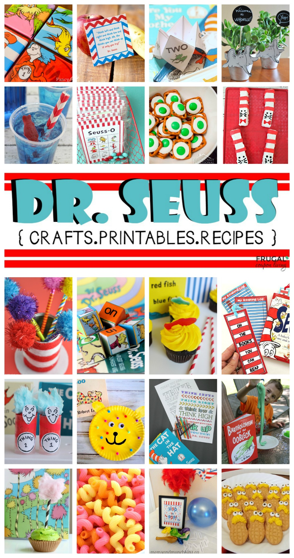 Creative Dr Seuss Crafts Printables And Recipes