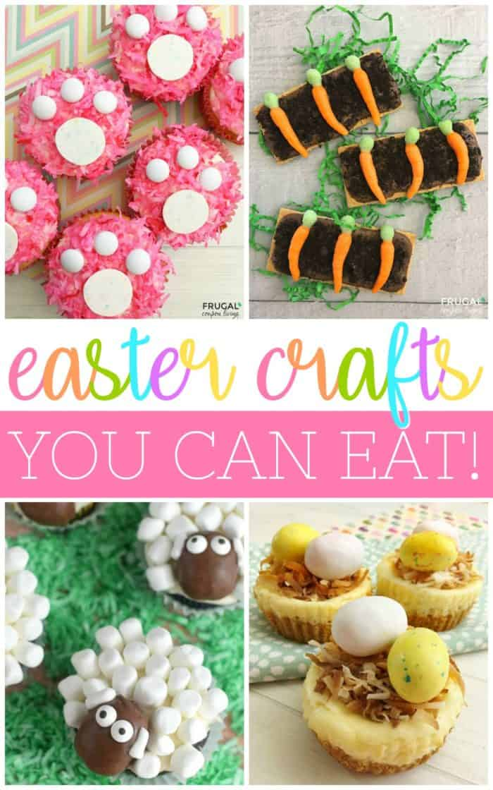 Easter Crafts You Can Eat