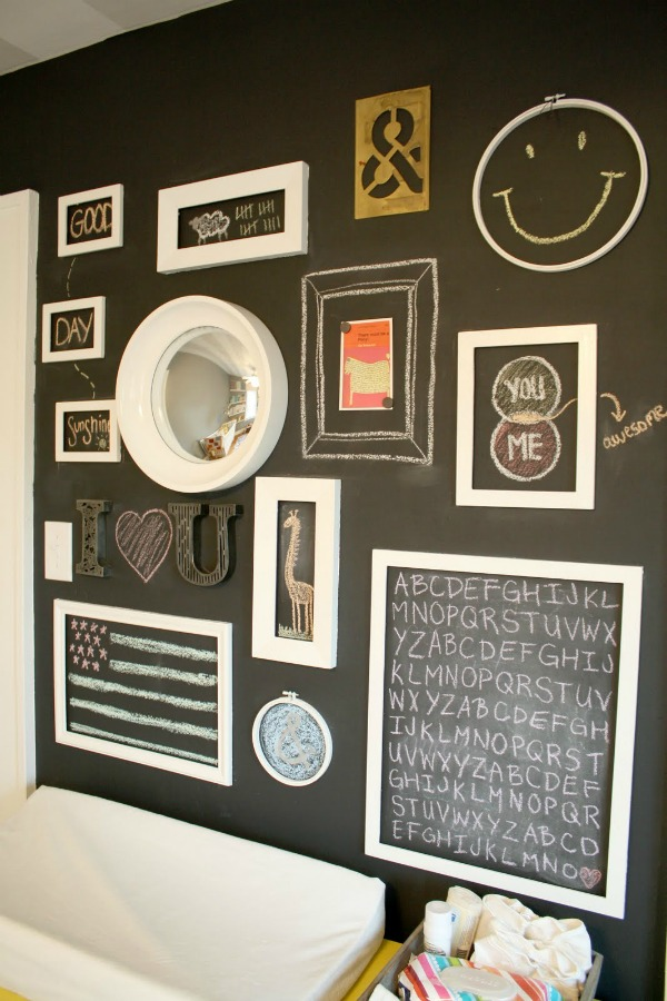 Create A Gallery Wall Ideas For Picture Frame Displays