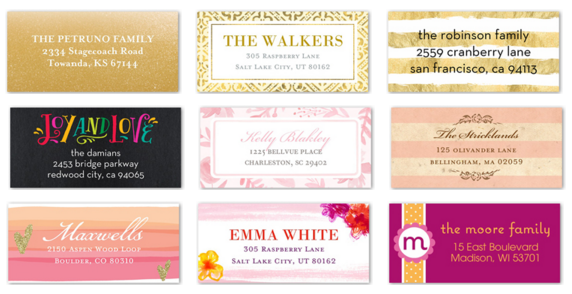 shutterfly coupons free address labels