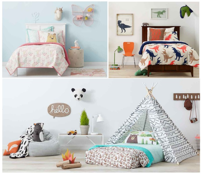 Target Pillowfort Kids Home Collection Now Available