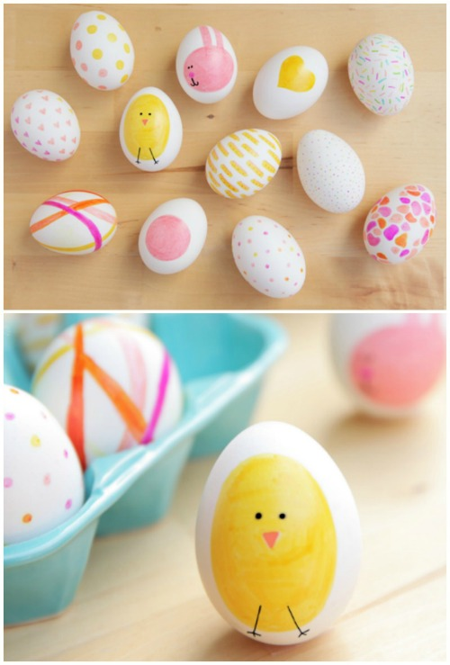 sharpie-easter-eggs-collage