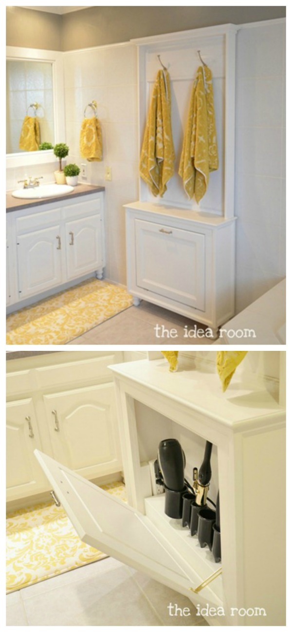 Elegant Creating Space Storage Solutions For The Bathroom  Apartment Therapy
