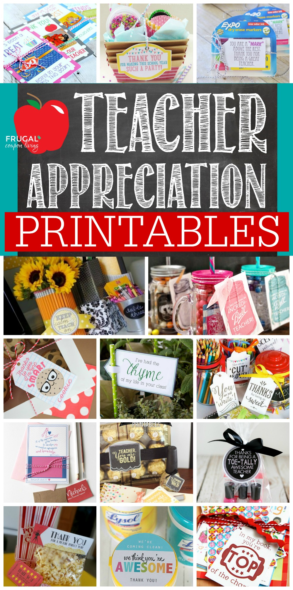 Teacher-Appreciation-Printables-Collage-Frugal-Coupon-Living