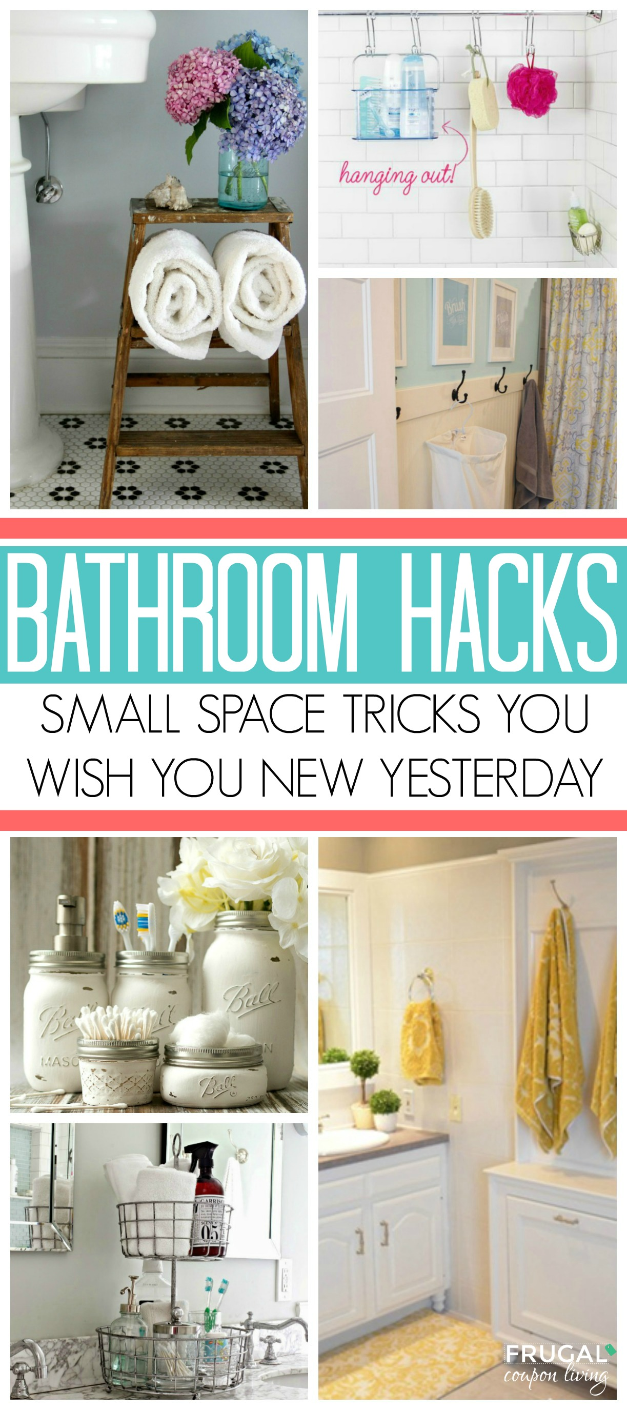 Small Space Bathroom Storage Ideas: Small Space Hacks & Tricks