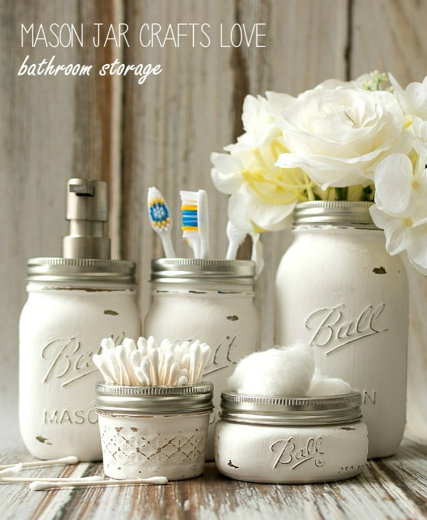 mason-jar-crafts-painted-distressed-bathroom-organizer-soap-dispenser-toothbrush-holder-2-3-of-3-2