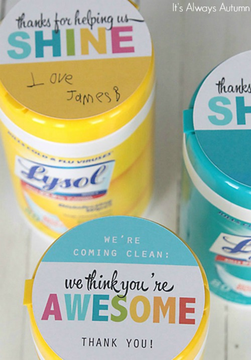 teacher-appreciation-gift-idea-clorox-sanitizing-lysol-wipes-500