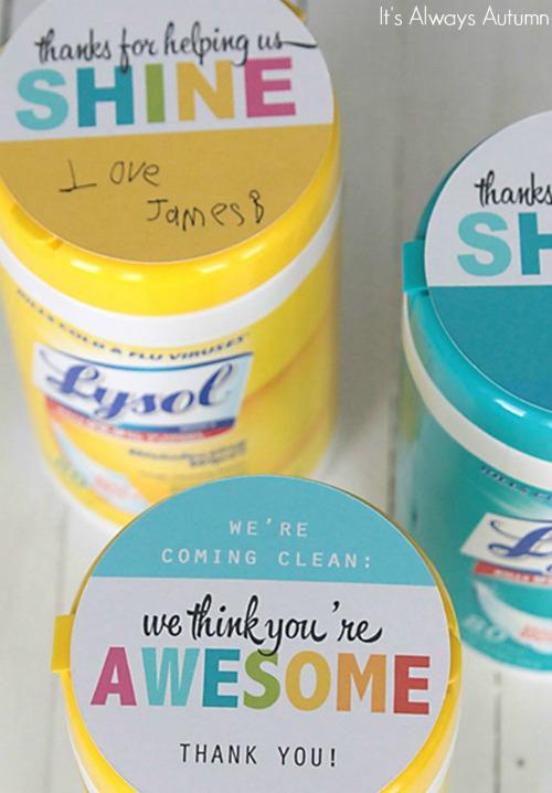 teacher-appreciation-gift-idea-clorox-sanitizing-lysol-wipes-500