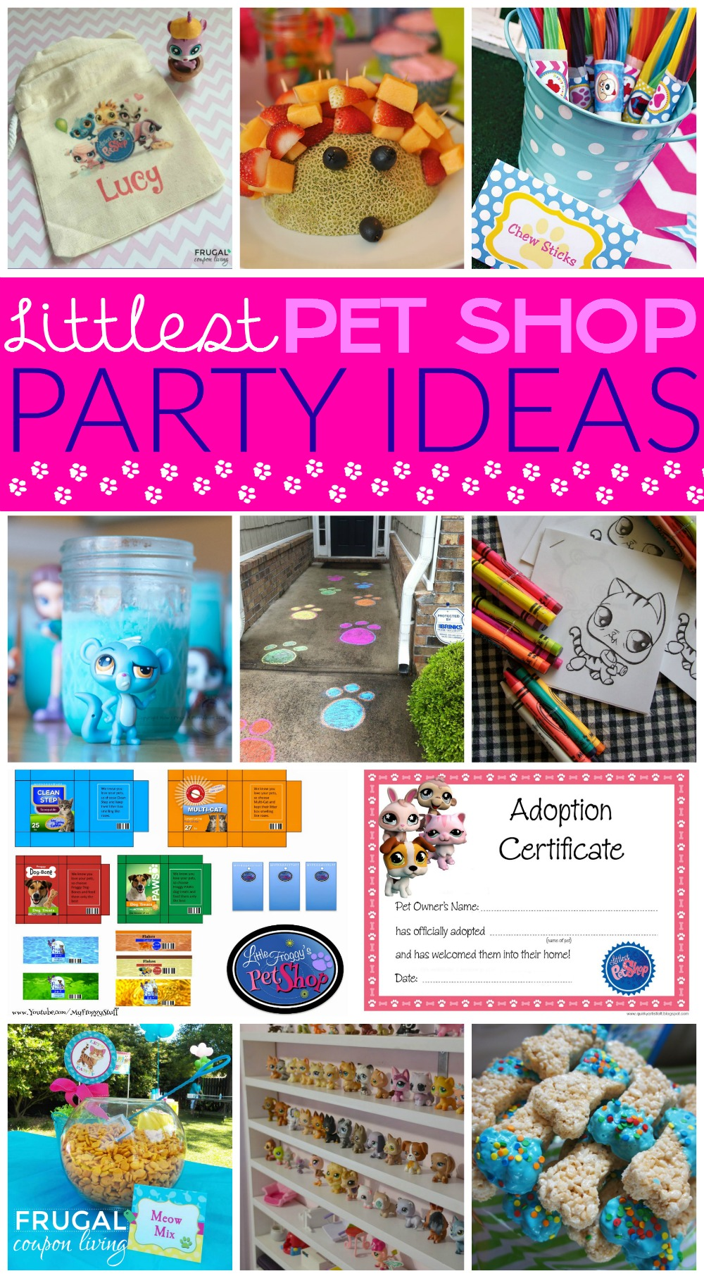 Littlest Pet Party Ideas