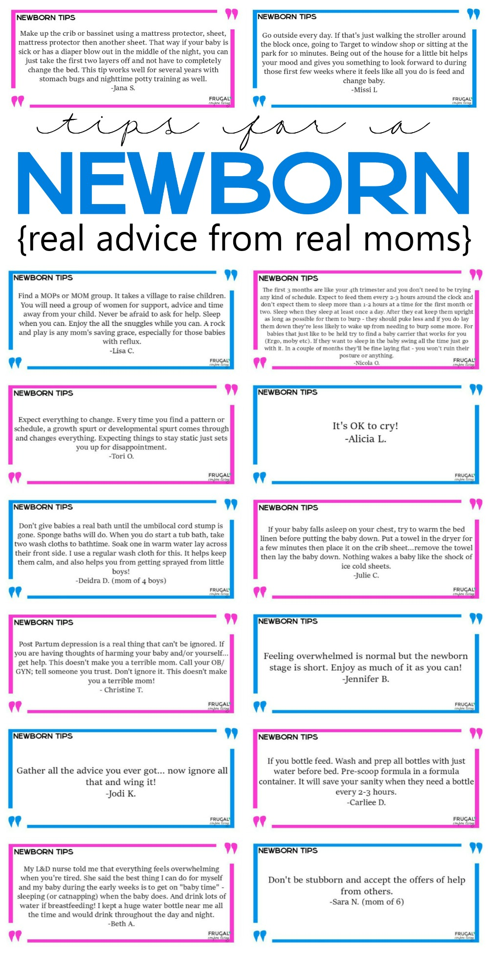 Tips-for-a-newborn-collage-frugal-coupon-living