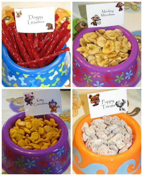 Littlest Pet Shop Party Food Ideas