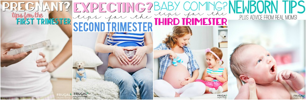 newborn-pregnancy-trimester-collage-frugal-coupon-living