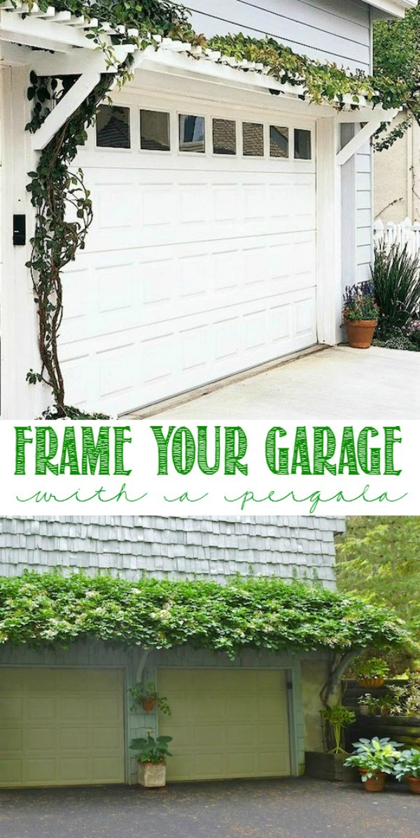 Curb appeal hacks to increase your home value for Garage door curb appeal
