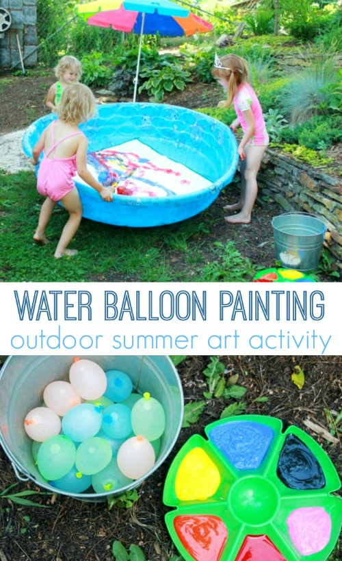 Visual Summer Bucket List For Kids
