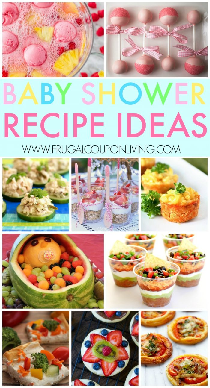 baby-shower-recipe-collage-frugal-coupon-living