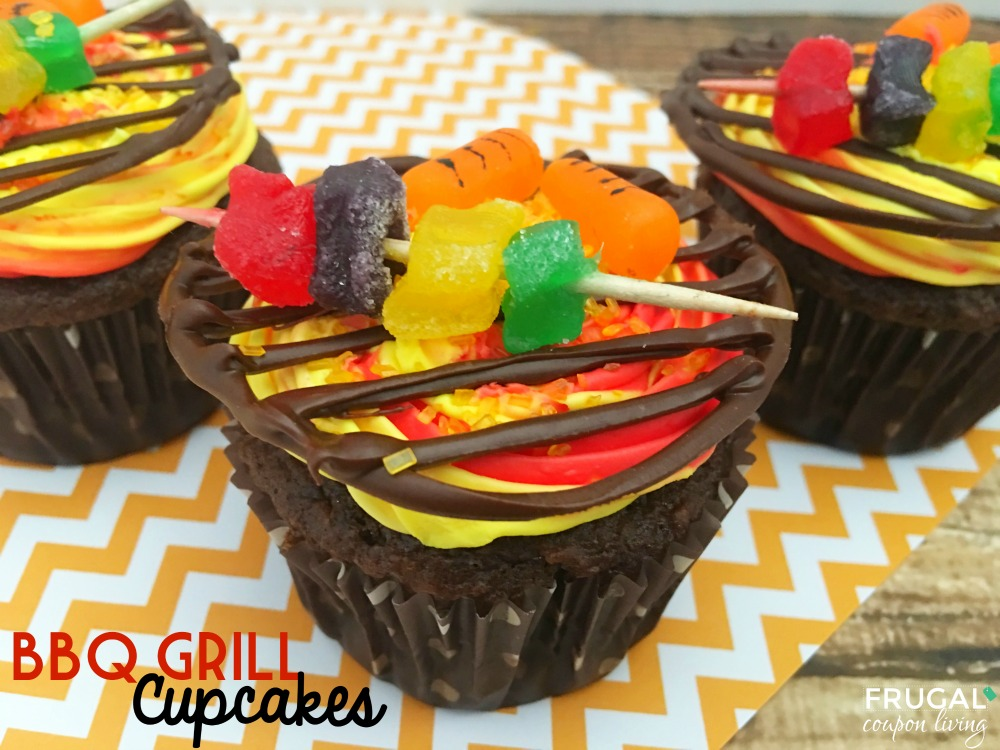 Bbq Grill Cupcakes Father S Day Idea