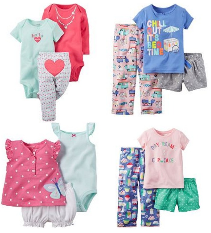 Kohl s Carter s Playtime and Pajama Clothes as low as $2