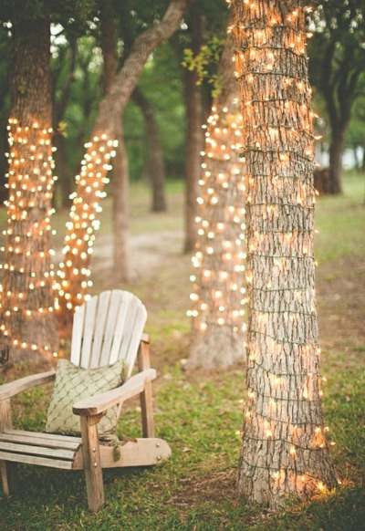 Cute cheap wedding light ideas