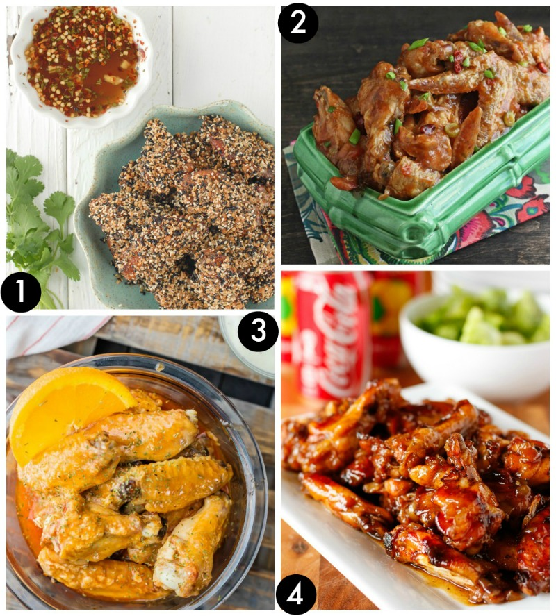 chicken-wings-recipe-collage-1-frugal-coupon-living