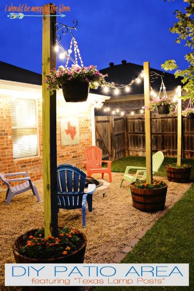 Do It Yourself Outdoor Bar: Midsummer Night Patio Ideas