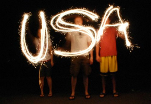usa-lights