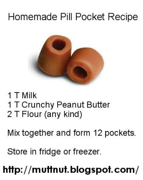 Homemade Pill Pockets