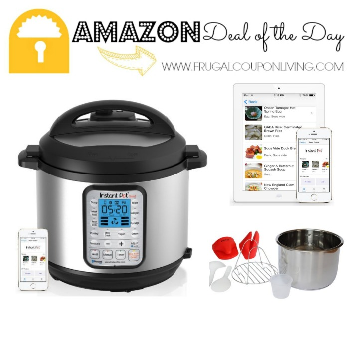 Amazon Deal Of The Day Instant Pot Ip Smart Bluetooth